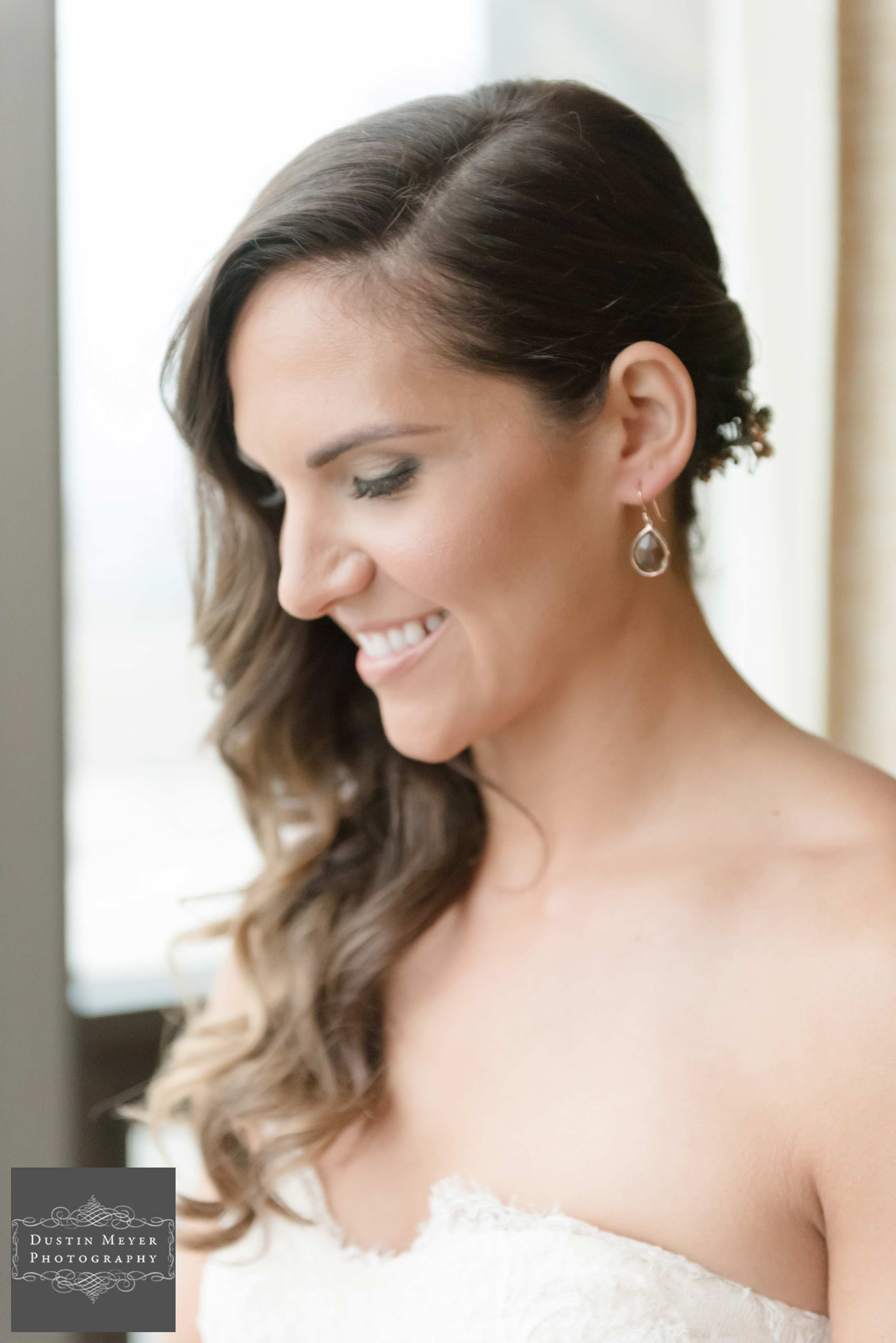 bridal hair and makeup earrings jewelry