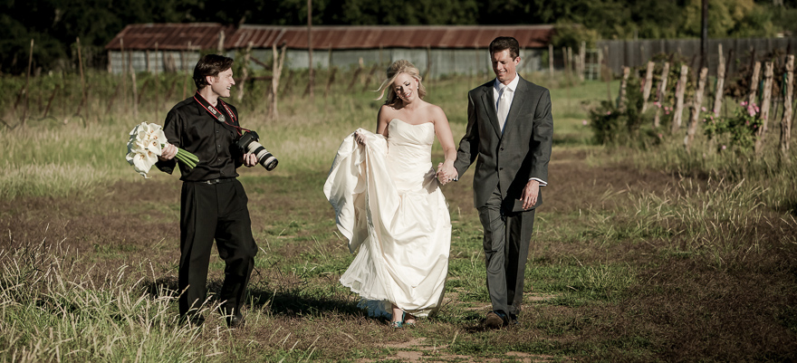 Dustin Meyer and wedding day couple portraits bridal first glance vineyard