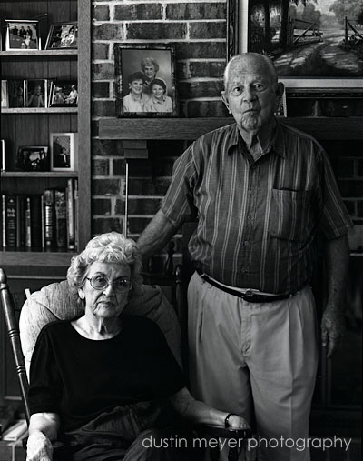Photo of my grandparents.
