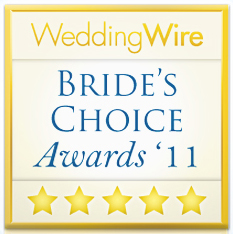 Awarded the Bride's Choice Awards 2011