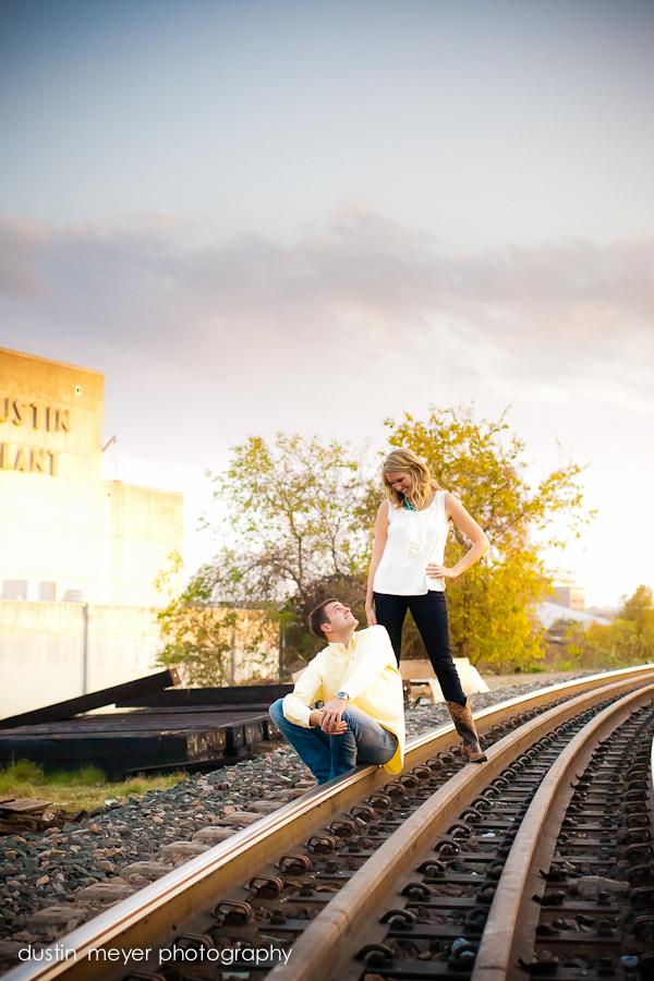 Austin Energized engagement portraits.