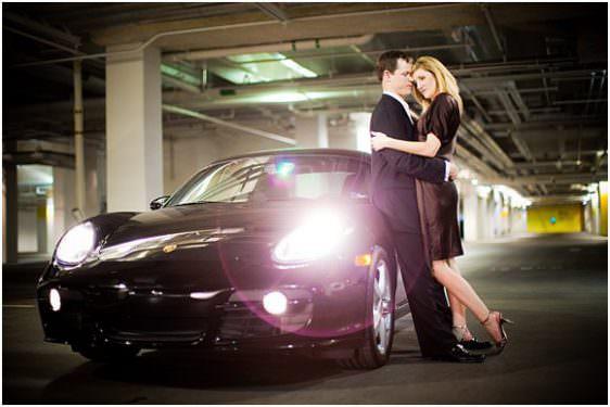 Engagement Portraits: Christa and James