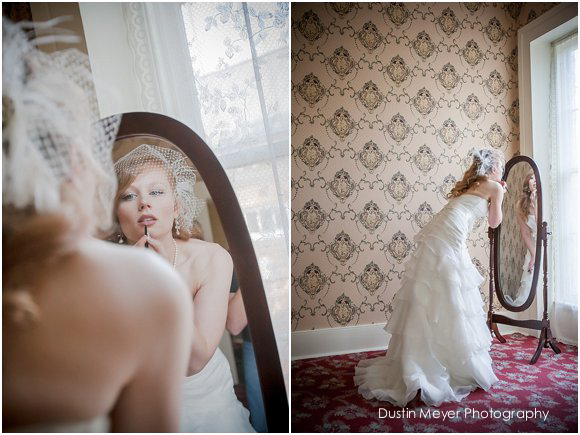 bridal makeup mirror window