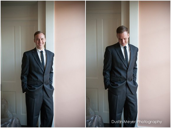 groom wedding day portraits