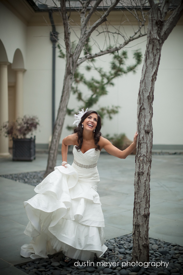 How to Pose for Bridal Portraits by Dustin Meyer Photography