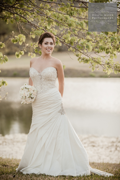 by the pond bridal portraits austin wedding photographers austin texas