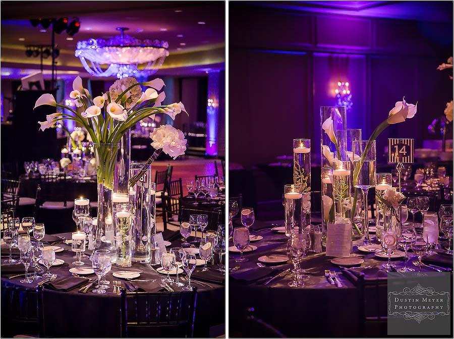 hotel zaza houston wedding reception photos