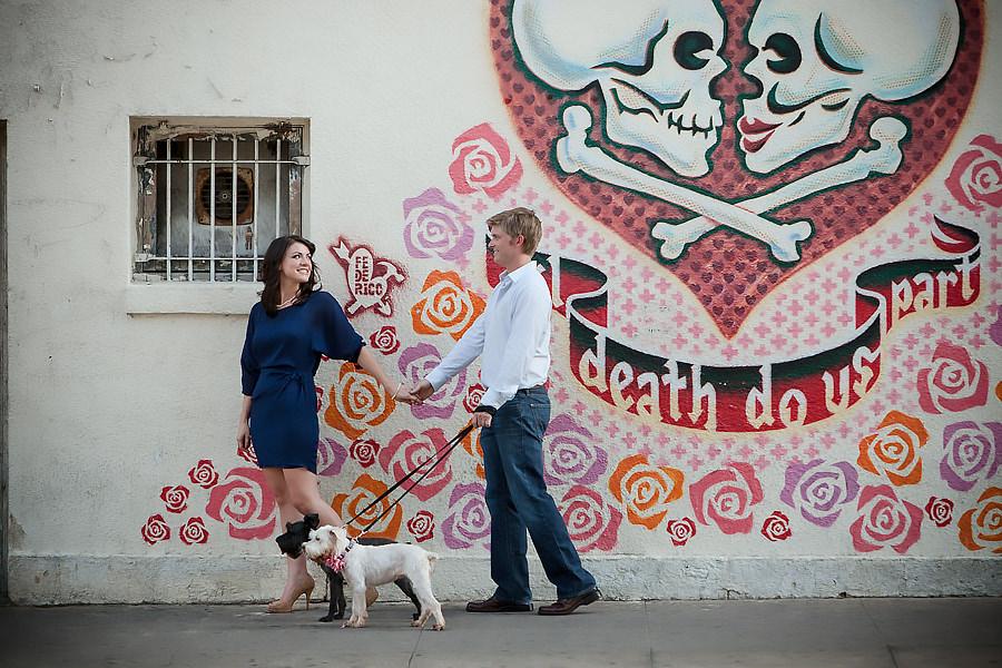 Til Death Do Us Part wall mural austin texas