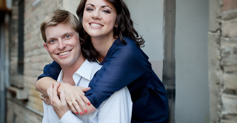 Engagement Portraits: Robin and Blake
