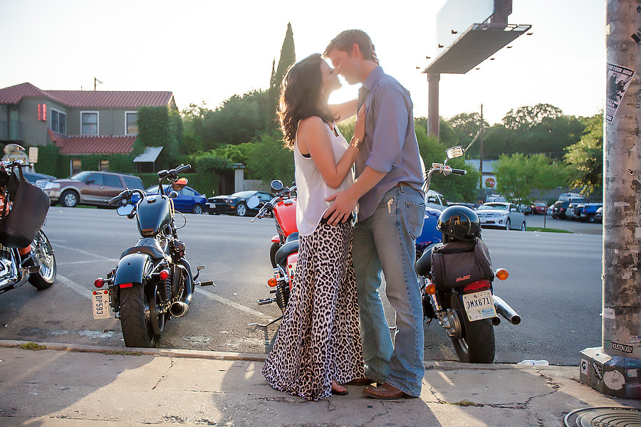 South Congress engagement portraits austin texas
