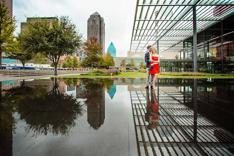 winspear opera house dallas engagement  portraits ideas