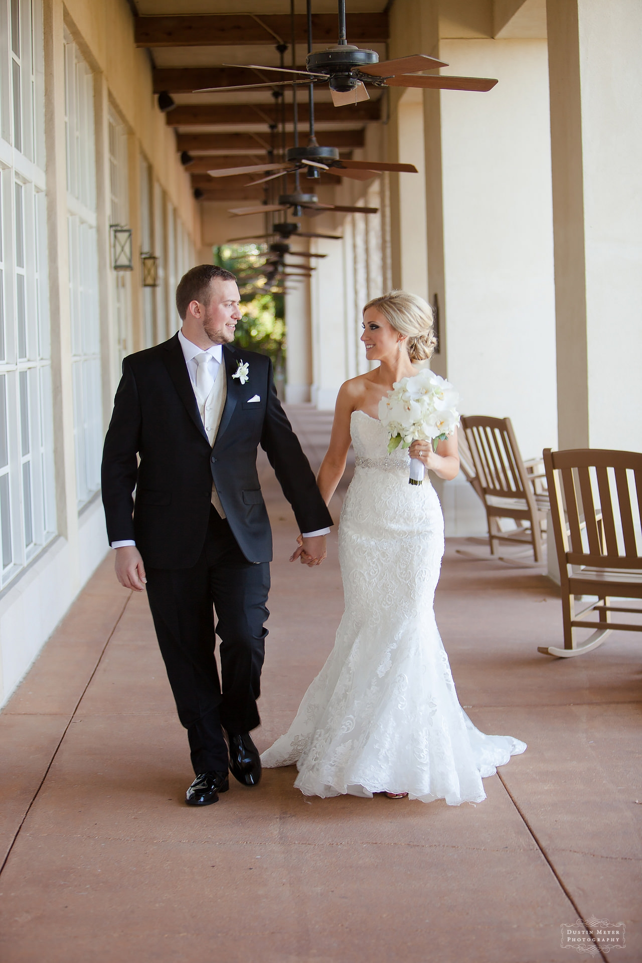 First Glance Look Wedding Day Bride and Groom Portraits