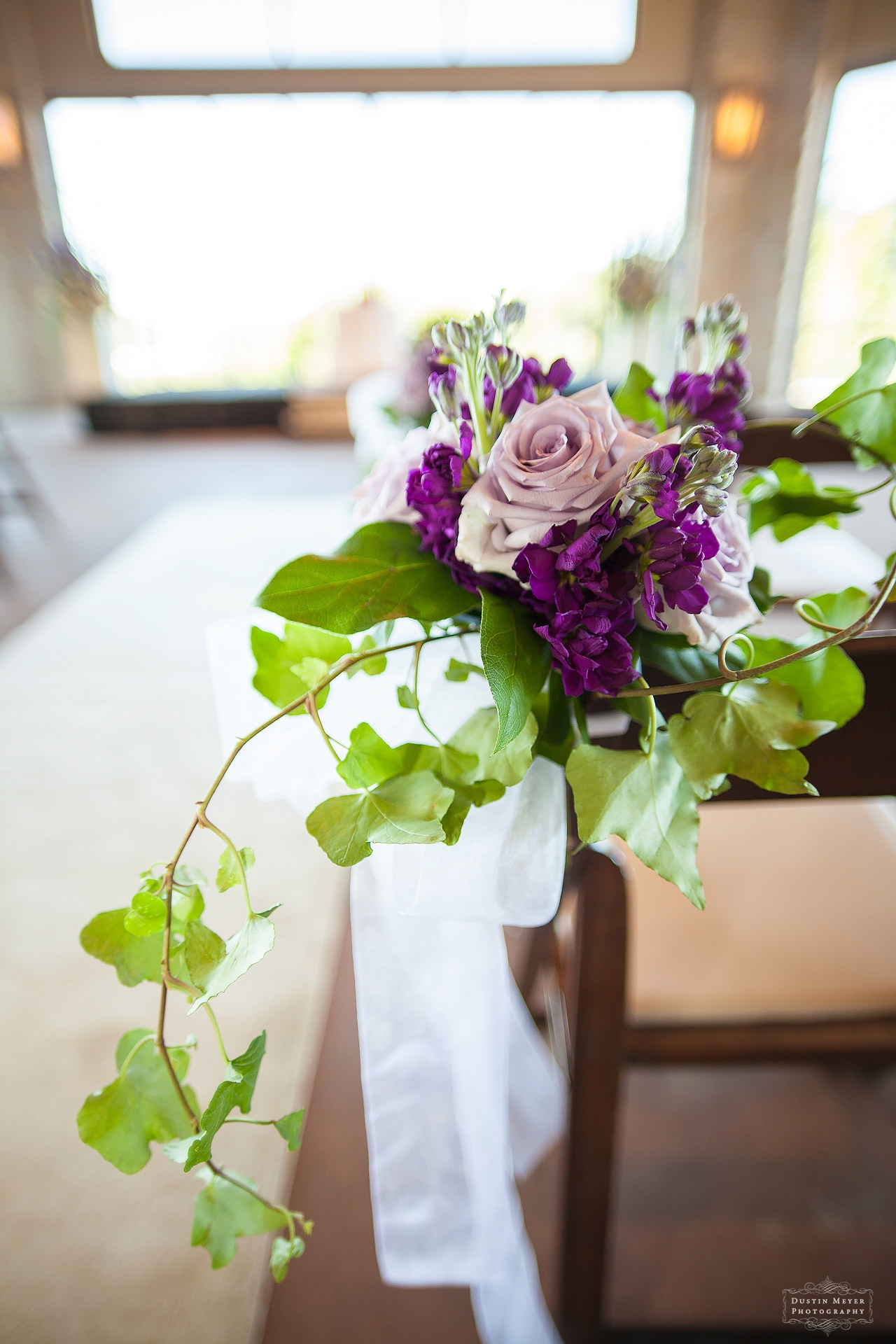 wedding ceremony floral arrangements