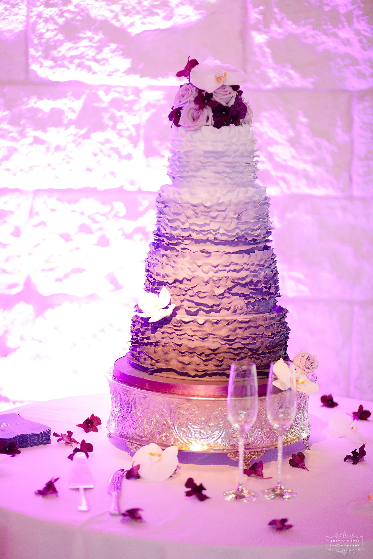 bridal wedding bride's cake