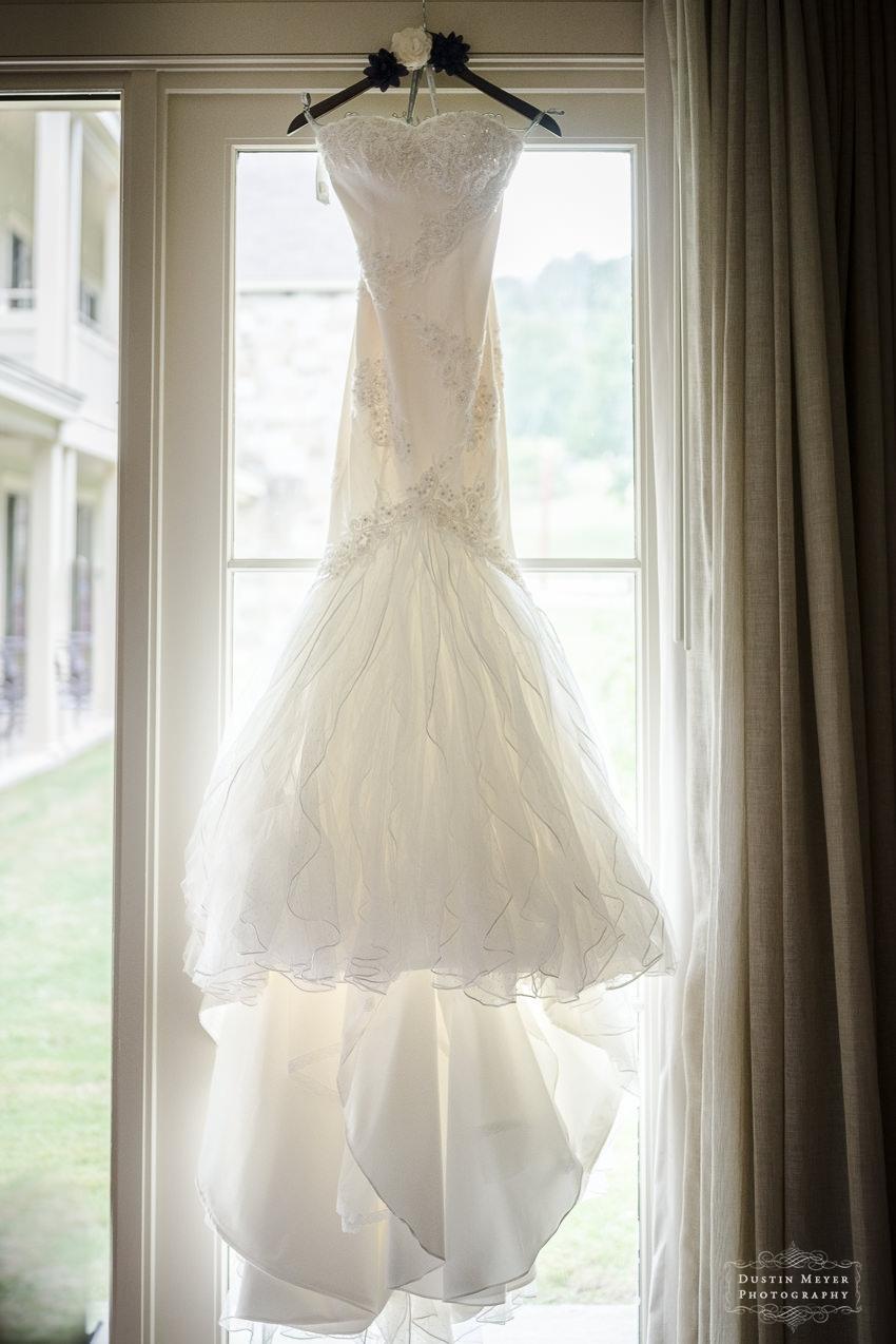 strapless lace wedding bridal gown Hyatt Lost Pines Wedding