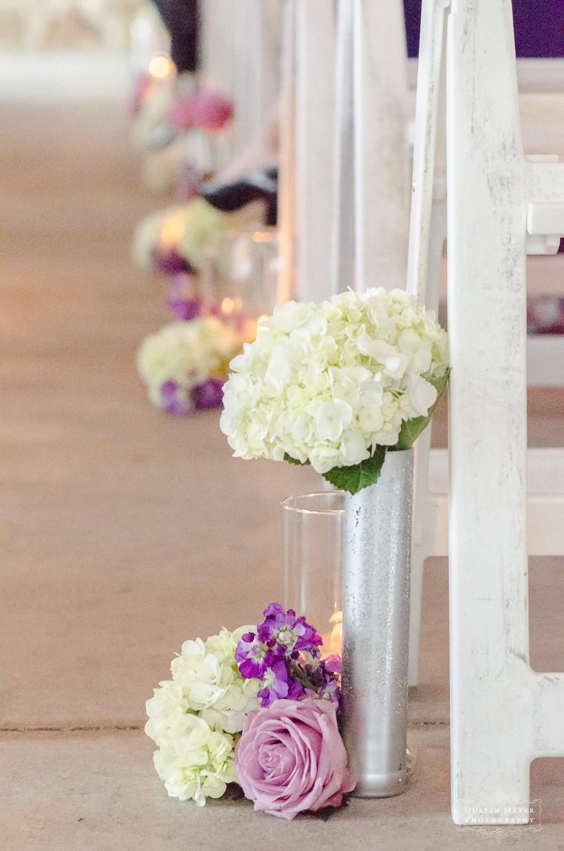 Hyatt Lost Pines Wedding ceremony flowers bridal floral ideas