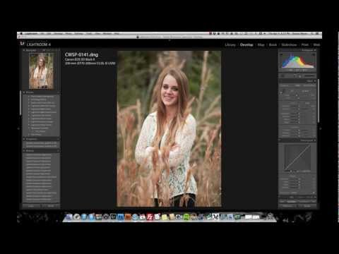 Facial Retouching w/ Adobe Lightroom