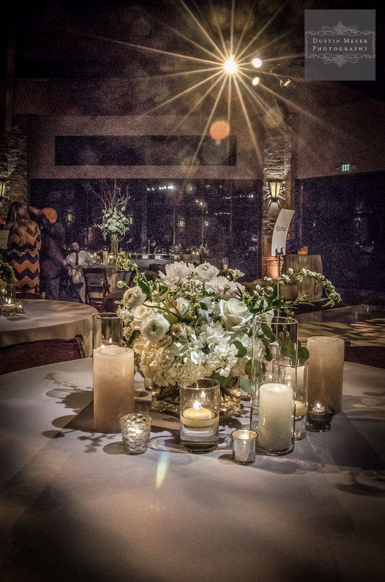 barton creek resort and spa wedding reception