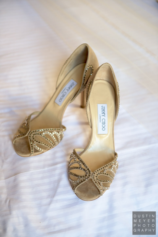 Bridal Shoes | Driskill Hotel Wedding Austin Wedding Photographers