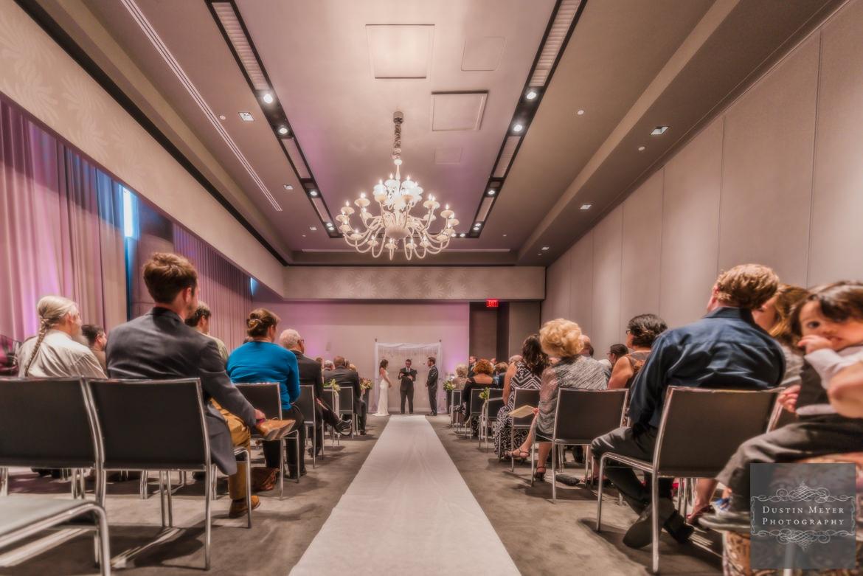 A W Hotel Austin Ceremony | Austin Wedding Photographers