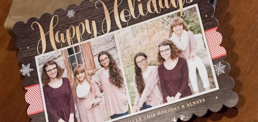 Family Portraits Holiday Greeting Cards