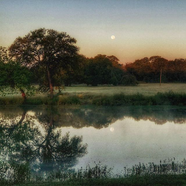 "Instagram: Not ""Good Night, Moon"". Instead, ""Good Morning, Moon"". #Landscape #Photography #Nature #Moon #PicOfTheDay"