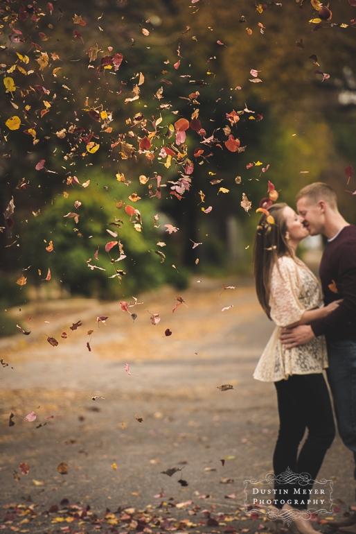 downtown austin fall autumn engagement portraits aggie wedding outdoors natural light ideas