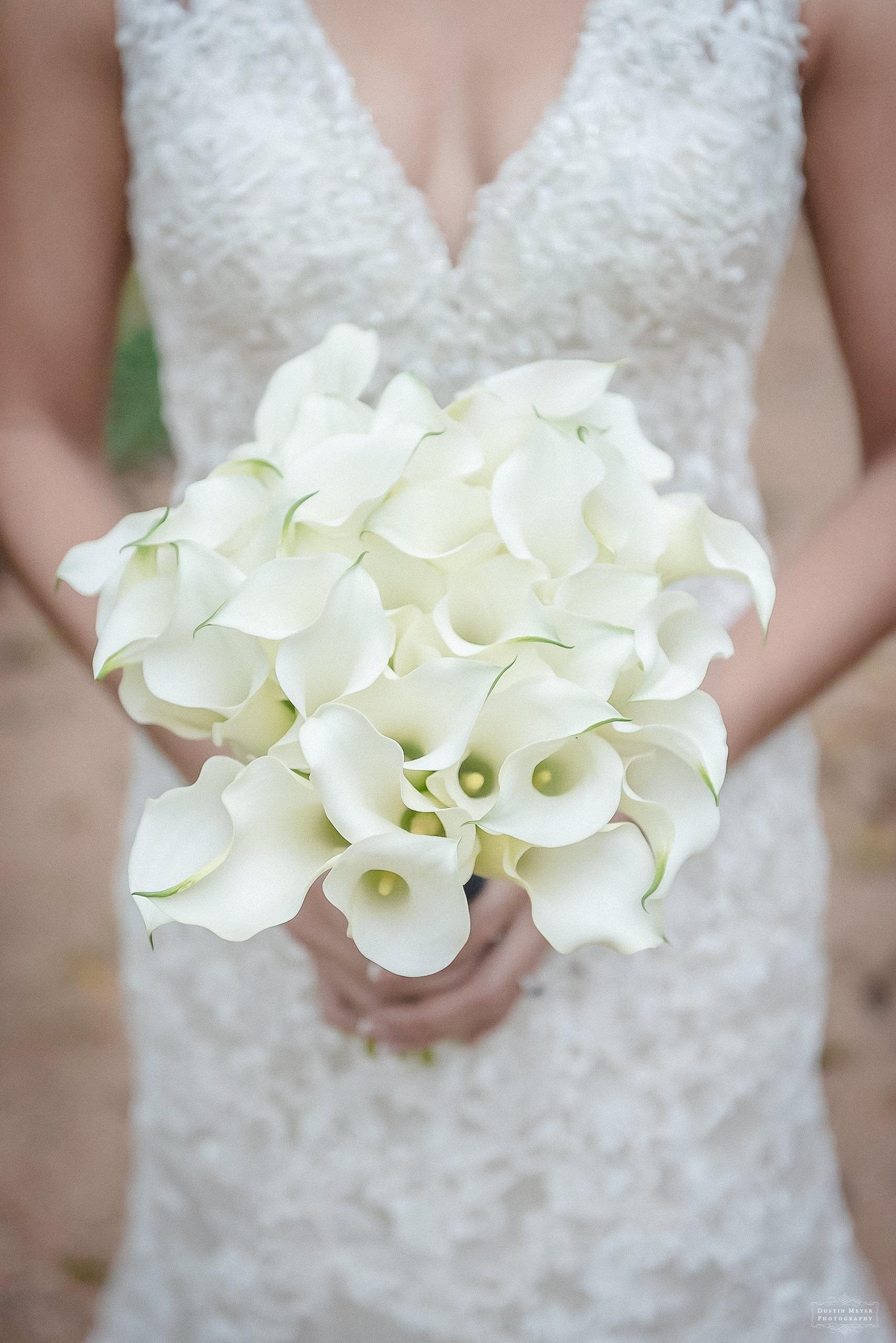 calla lilies wedding bridal bouquet