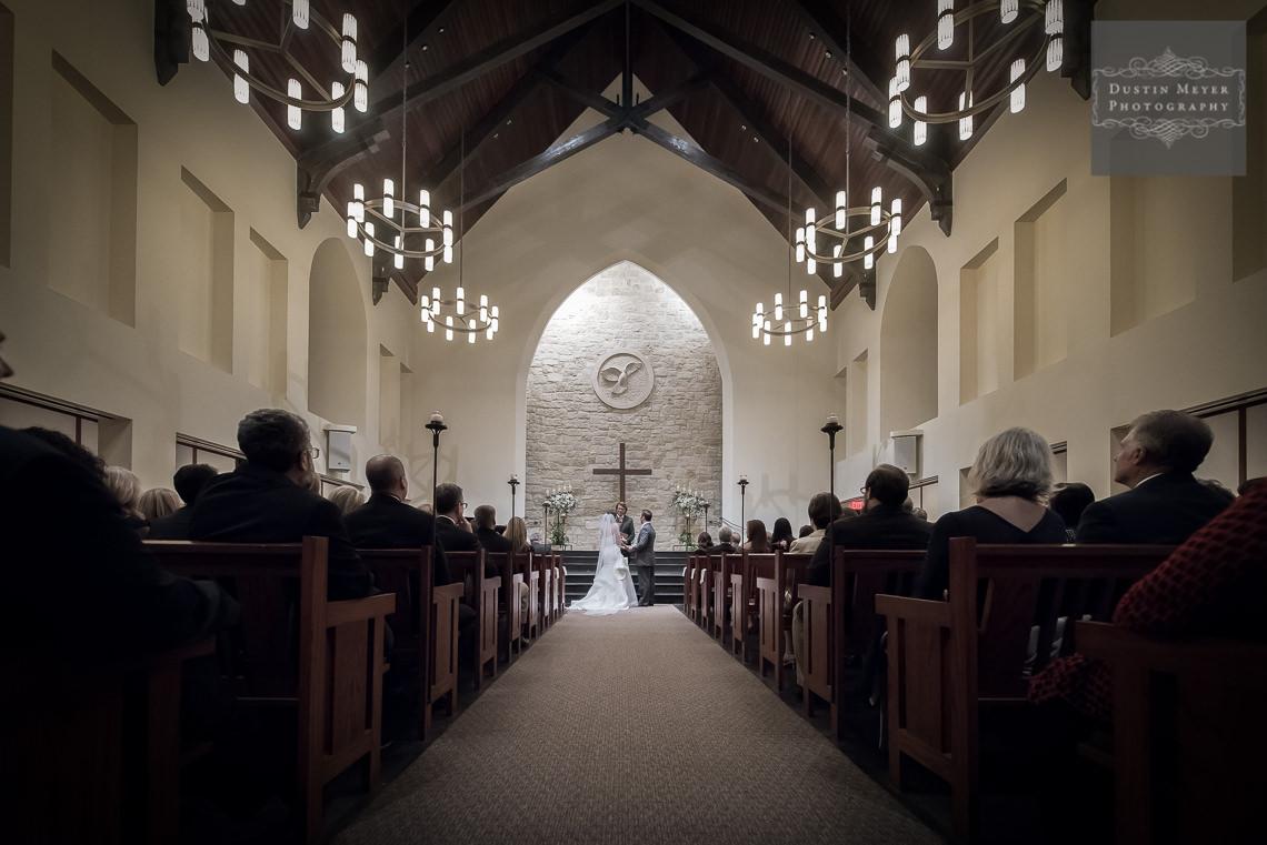 smith family chapel wedding ceremony