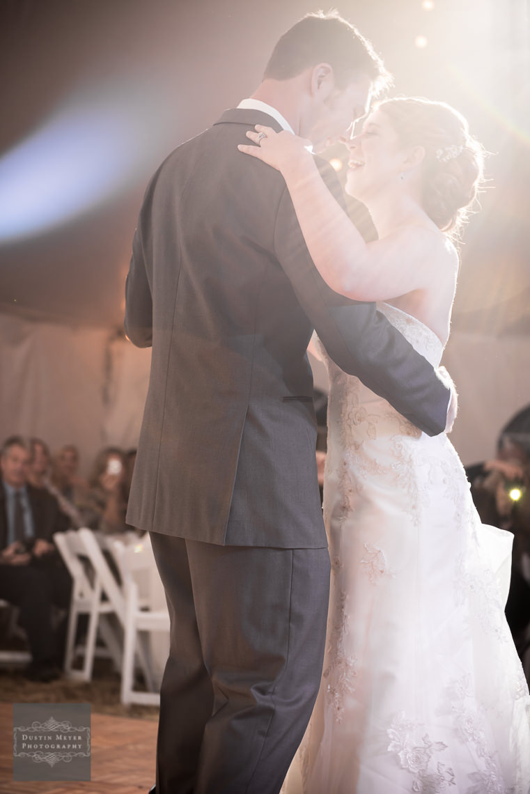 first dance wedding photography hill country wedding
