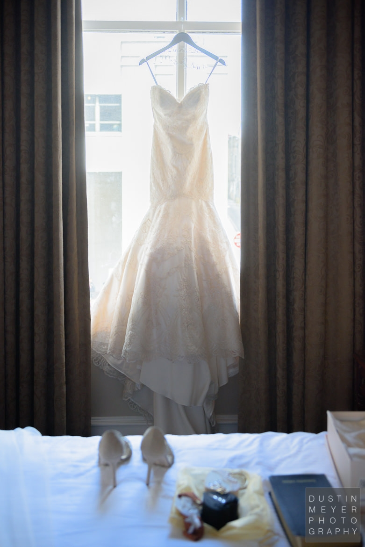Bridal Gown | Driskill Hotel Wedding Austin Wedding Photographers