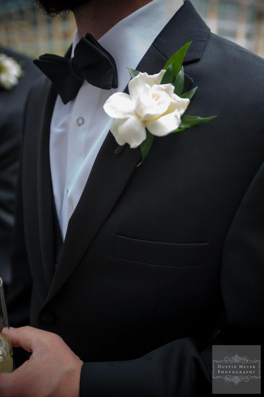 Groom's boutonniere | Austin Wedding Photographers