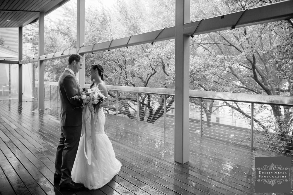 first look photos, houston wedding photographers, bride and groom, black and white